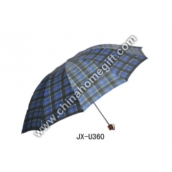 2 section golf umbrella