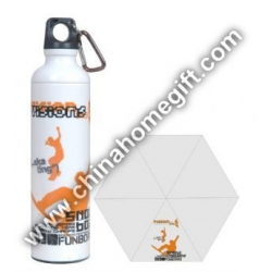 21*6k 5 Sections Water Bottle Umbrella