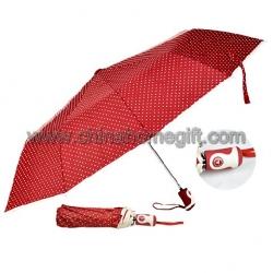 Red Rain Umbrella