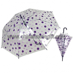 round dot POE umbrella