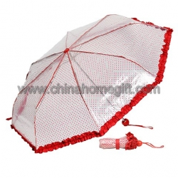 Transparent Fold Umbrella