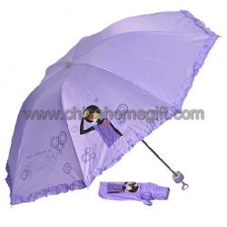 Purple Lace Umbrella