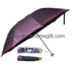 3 Folding Manual Open Umbrella