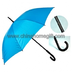 Blue straight umbrella