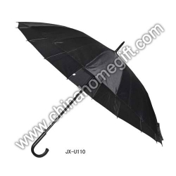 Mens' Black Umbrella