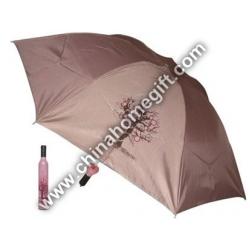 Beautiful Vase Bottle Umbrella