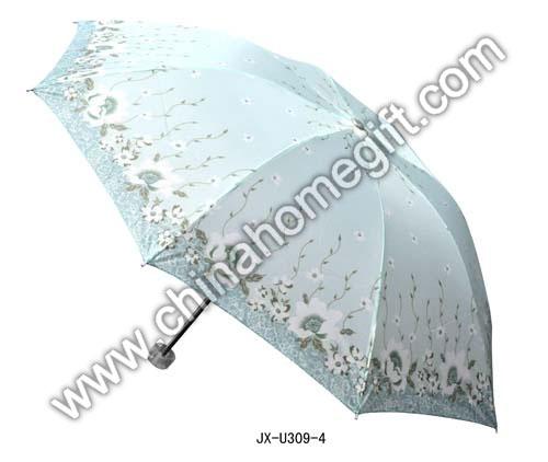 White Flower Umbrella