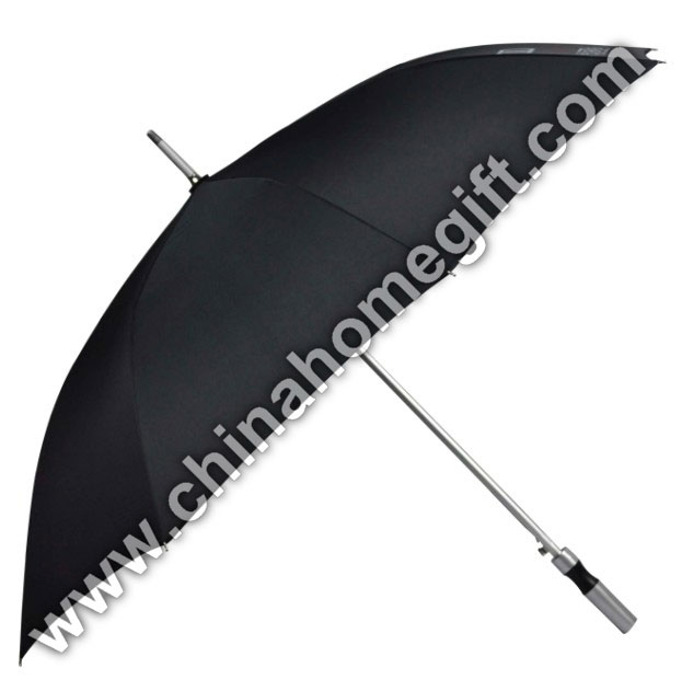 Large size black golf umbrella