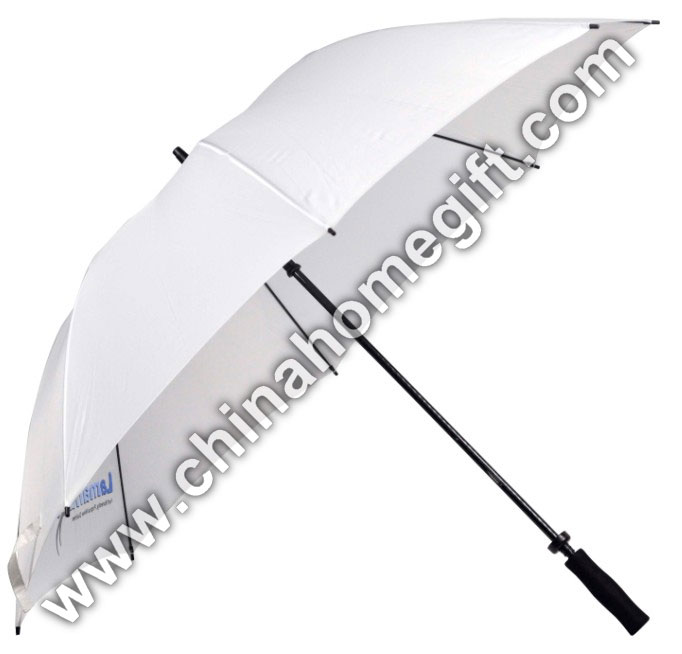 White fibreglass golf umbrella