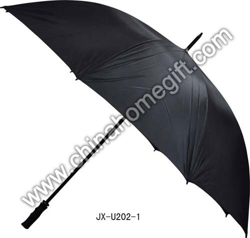 Black Windproof Umbrella