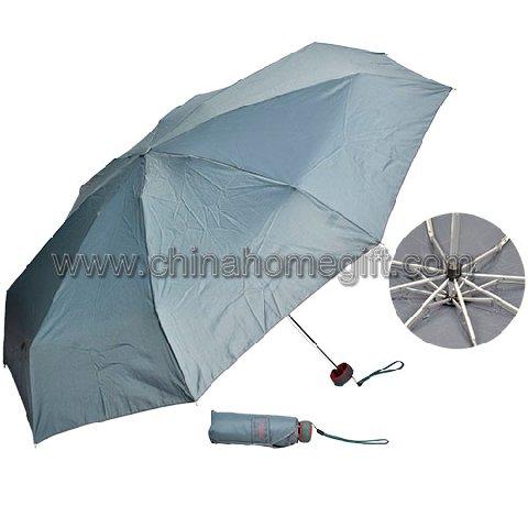 Gray Folding Umbrella