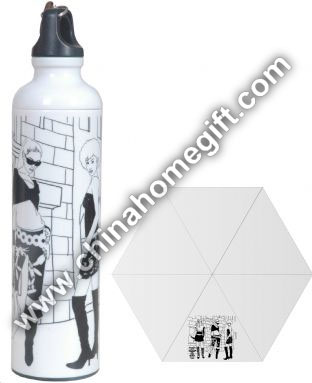 Fashionable Water Bottle Umbrella