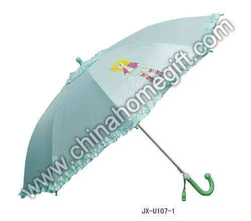 Double Layer 50cm*8k Auto Open Kids Umbrella