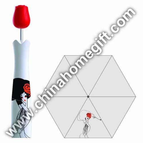 Popular Rose Bottle Umbrella