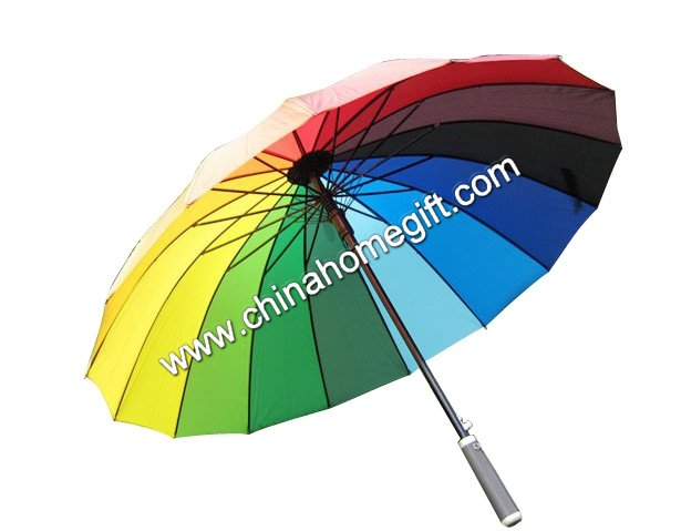24K Rainbow umbrella