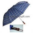 Auto open 2 sections golf umbrella