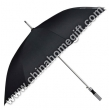 Large size black golf umbrella
