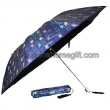 7K Black Coating Fabric Fold Umbrella