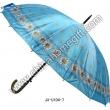 Flower Pattern Straight Umbrella