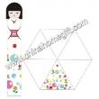 Japanese Girl Umbrella( promotional umbrella)