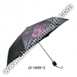 20*6k Steel Coated Black Lipstick Umbrella
