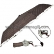 Auto open and close 3 folding umbrella