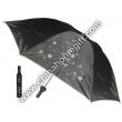 Zinc Coated Shaft 3 Sections Bottle Umbrella