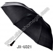 Black Golf Rain Umbrella