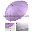 Flower floating umbrella