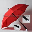 red umbrella with LED llight