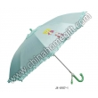 Double Layer 50cm*8k Auto Open Kids Umbrella