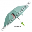 Zinc Coated Shaft Vase Umbrella